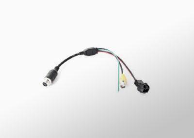 Kamera Adapter MiniDIN auf BNC/AMP