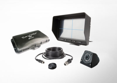 TurnCAM® Abbiegeassistenzsystem mit 7″ Quad Monitor