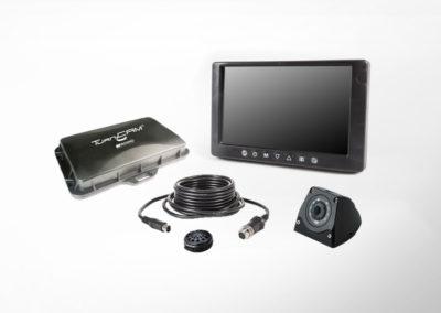 TurnCAM® Abbiegeassistenzsystem mit 7″ Einbaumonitor