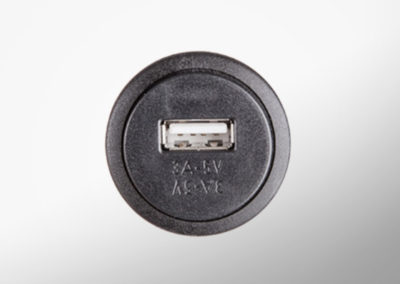 USB 5V charging socket without top cover