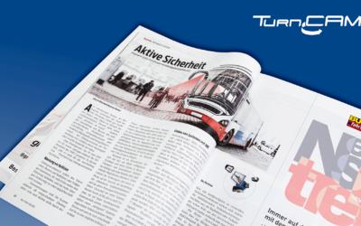 Heymann rüstet Omnibusse mit Abbiegeassistenten aus