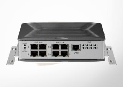 8-Port Unmanaged PoE IP-Switch 8S