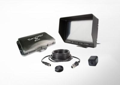 TurnCAM® Abbiegeassistenzsystem mit 7″ Monitor und Minikamera